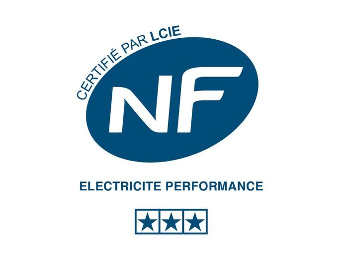 Certification NF électricité performance