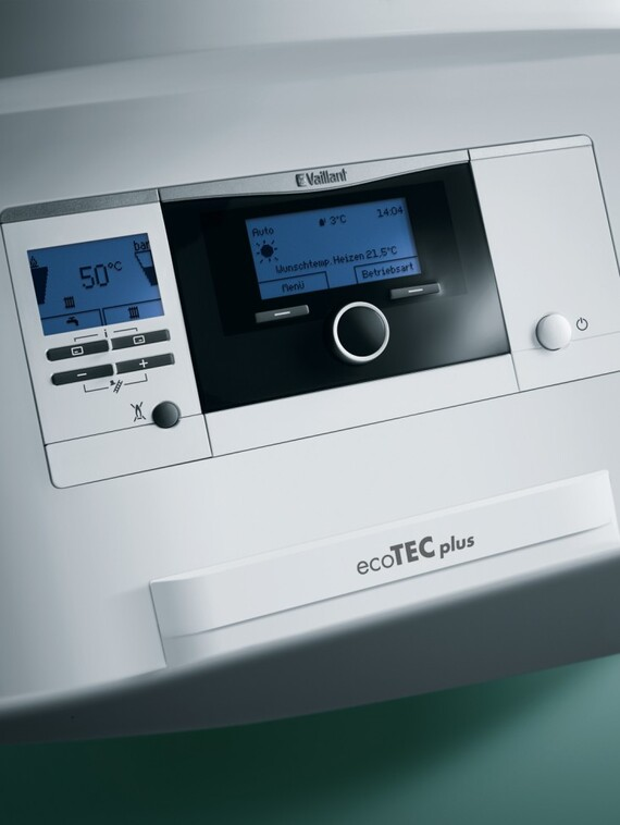régulation chauffage de l'ecoTEC plus