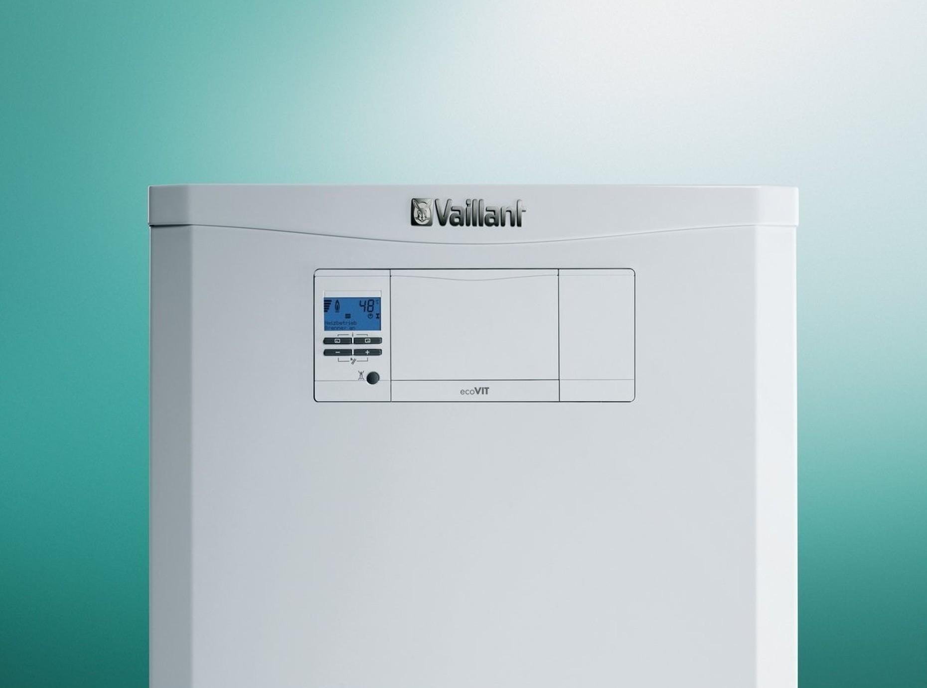 Ecovit plus chaudi re sol gaz condensation pour for Consommation chaudiere gaz condensation