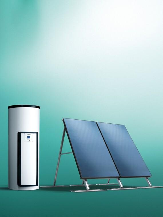 Chauffe eau solaire autovidangeable auroSTEP plus