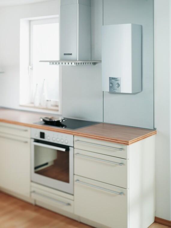 chauffe-bains atmoMAG 14 dans la cuisine